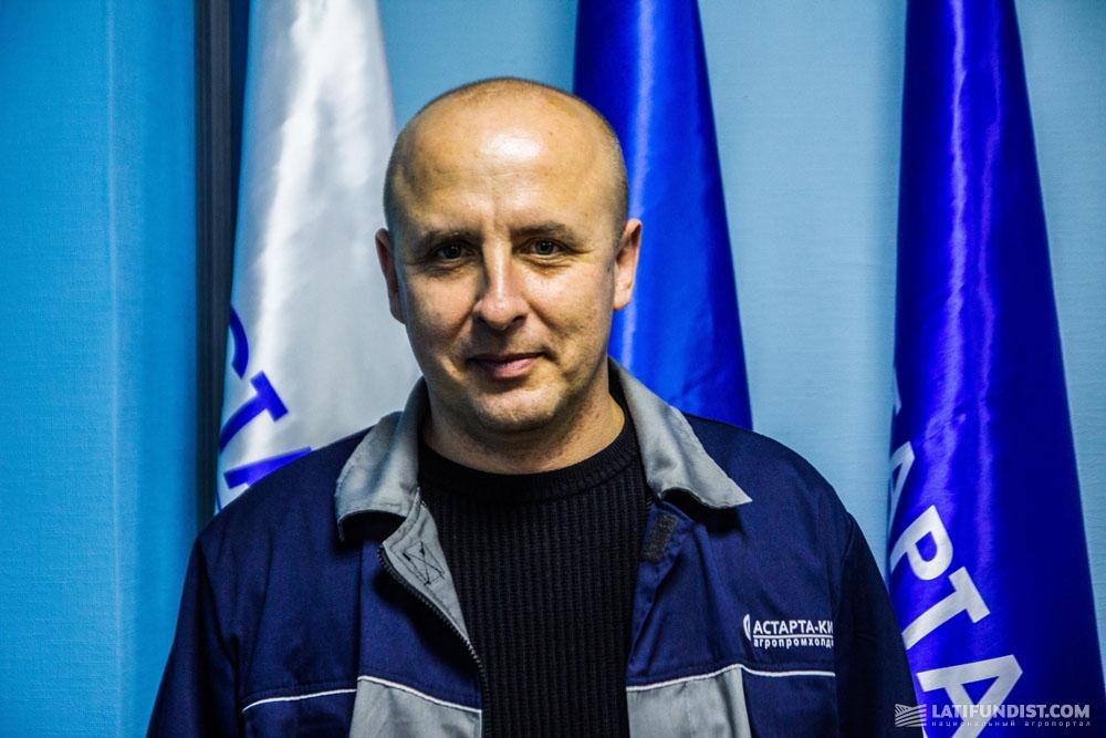 Владимир Лаврик, директор Яреськовского сахарного завода